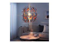 Designer Pandant Lamp shade and lightbulb copper colour (£109 on eBay)