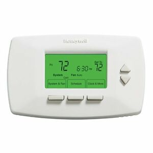 Honeywell Thermostat RTH7500D1072  Honeywell Programmable 7-Day