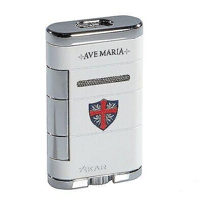 Xikar Allume Double Jet Cigar Lighter - Ave Maria - New