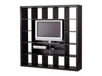 Ikea TV Unit Television Stand Expedit black / brown