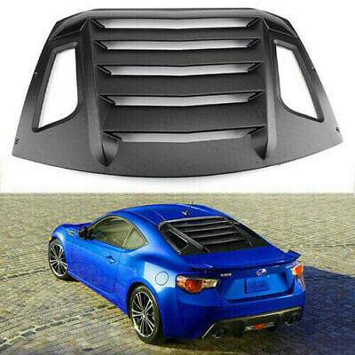 Rear Window Louver Scoop Sun Shade Cover for Subaru BRZ/Scion FR-S/Toyota GT86