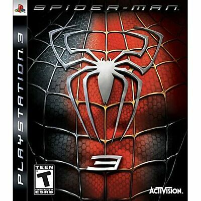 Spider-Man 3 For PlayStation 3 PS3 Very Good 7E