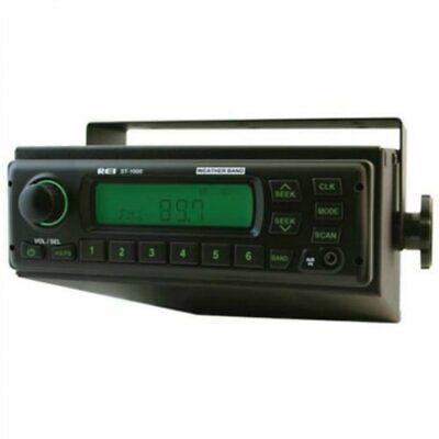 Rei Radio 12 Volt Amfmwbaux Single Speaker Roof Mount