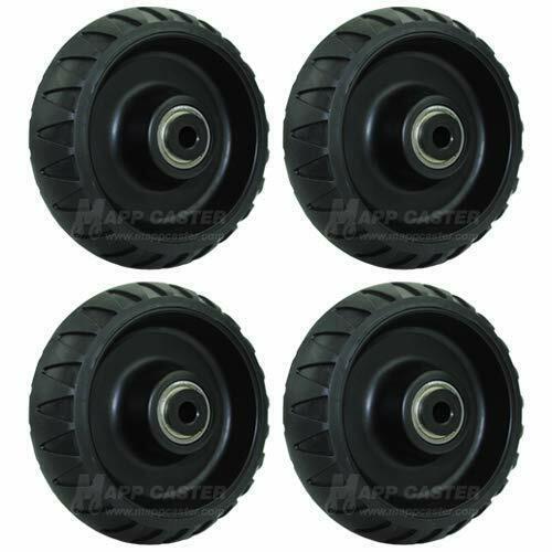 4 Stryker Stretcher Cot Wheels Set EMS MX EZ LX DX 6080 6082 6500 Power
