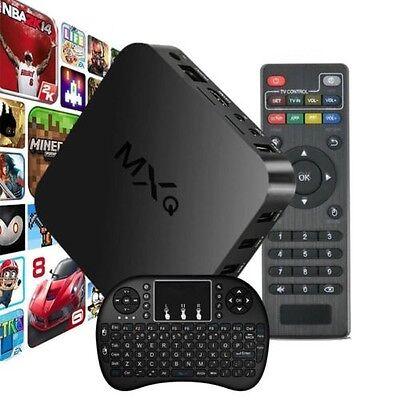 MXQ S805 Streamer Smart TV Box Quad Core 1G+8G WIFI HDMI 1080P + i8+ Fly Mouse