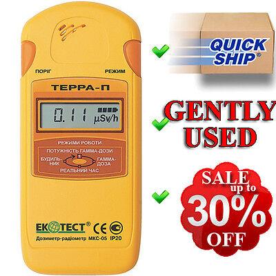 Terra-p Mks 05 Ecotest Dosimeter Radiometer Geiger Counter Radiation Detector