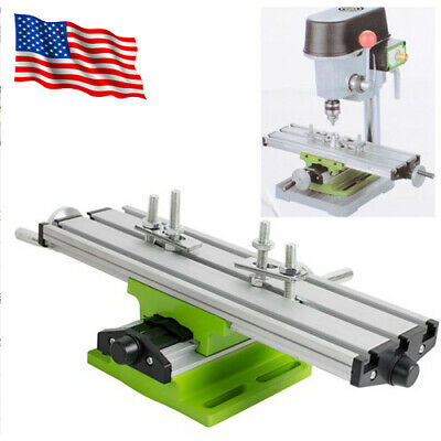 Aluminium Alloy Cross Slide Vise Work Table Bench Milling Drill Fixture Usa Fda