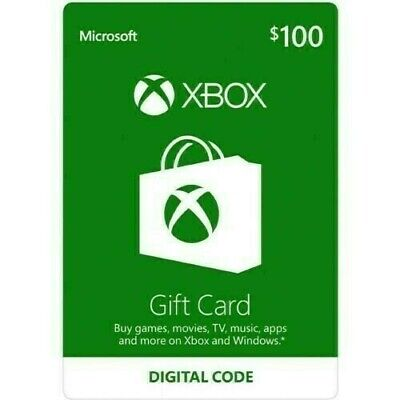 $100 XBOX Live $100 USD Digital Card - XBOX ONE and 360 - Email delivery