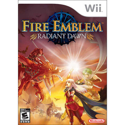 FIRE EMBLEM RADIANT DAWN [E10] wii game for sale  Shipping to Canada
