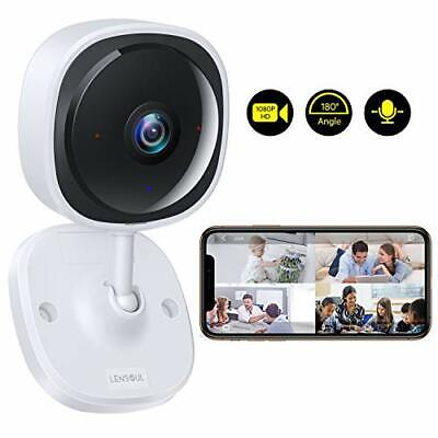 Lensoul Wireless Security Camera System 1080p Baby Monitor Home WiFi Surveillanc