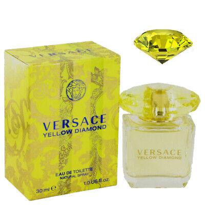 Versace Yellow Diamond by Versace Eau De Toilette Spray 1 oz  Free Shipping