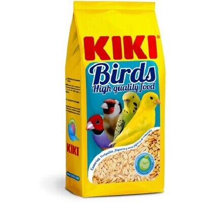 Avena Pelada Rica en Carbohidratos Kiki Birds para Pájaros 500 gr
