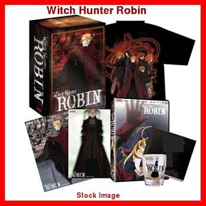 Witch Hunter Robin collector's anime bundle tshirt cels glass