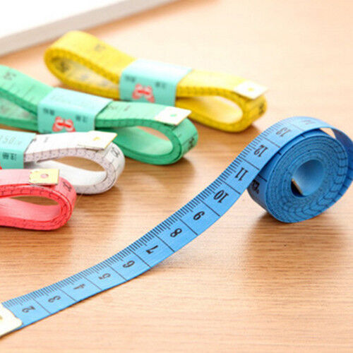 "New Soft Fabric Cloth Tape Measure Ruler Dual Side Tailor Metric 60"" 150cm US"