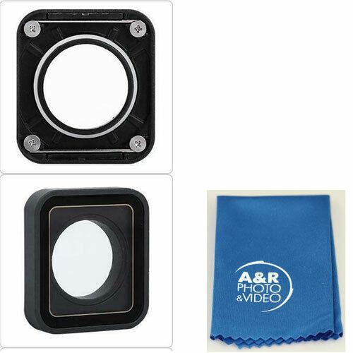 UV Protective Lens Cap Cover for Gopro Hero 5 Hero 6 Hero 7 Black + cleaning kit