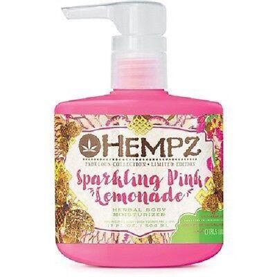 Sparkling Pink Lemonade (NEW HEMPZ LIMITED EDITION LTD SPARKLING PINK LEMONADE BODY MOISTURIZER 17)