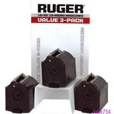 Ruger 10 22  Bx 1  22Lr 10 Round  Magazine  3 Pack Model   90451 Oem Factory New