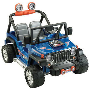 Childrens red jeep
