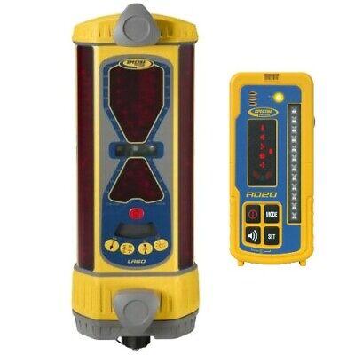 Spectra Precision Lr60w Receiver W Rd20 Bluetooth Remote Display Laser Trimble