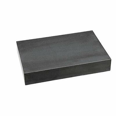 "Black Granite Surface Plate Grade A Ledge 0 18""x12""x3"" +/000050"" Accuracy 80 lb."