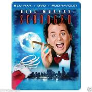 Scrooged Blu Ray