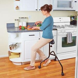 Roll About Chair 3 legs with casters adjusts 27-34 inches NIB London Ontario image 10
