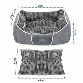 Puppy / small dog/cat items for sale: Pet bed, dog bowls, vetfleece and puppy crate