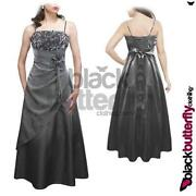 Long Silver Evening Dress