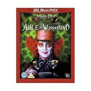 Alice in Wonderland 3D Blu Ray