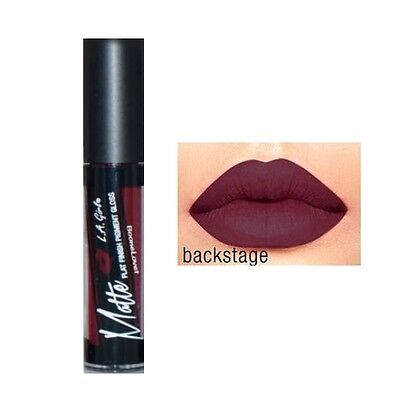New !!!1 x  L.A.Girl Matte Pigment Gloss - BACKSTAGE Shade 1 X Pigmented Matte