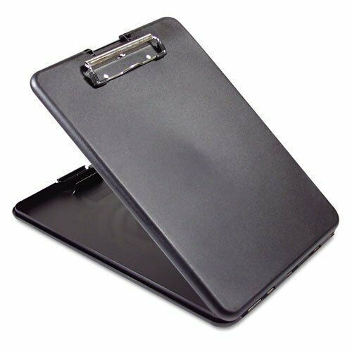 Saunders SlimMate Plastic Storage Clipboard with Snap Closure– Lightweight Po...