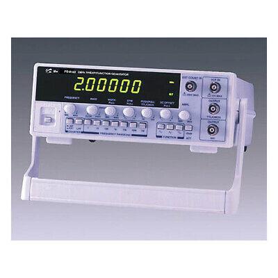 Unisource Fg-8102 2mhz Sweep Function Generator 6 Digit Display