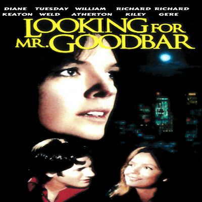 Looking For Mr. Goodbar, 1977, Original Movie, DVD Video, Diane Keaton