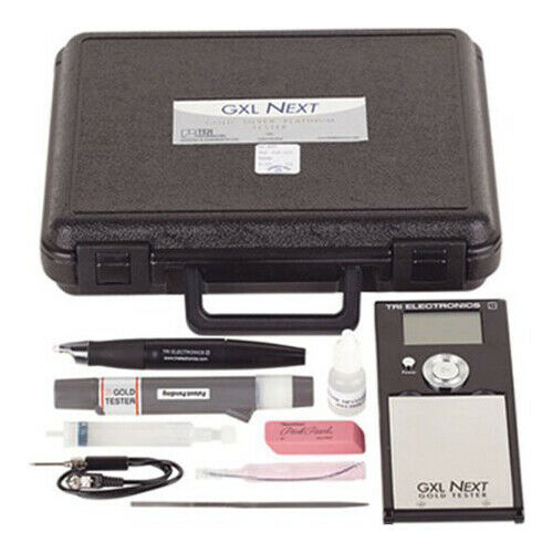 Tri Electronics GXL NEXT Silver, Gold, and Platinum Jewelry Tester Tool - NEW