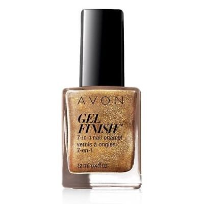 "~Avon~Gel Finish~7-in-1 Nail Enamel~""Glimmer""~New~"