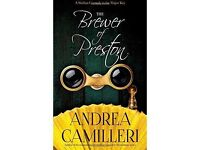 THE BREWER OF PRESTON by Andrea Camilleri (author of Inspector Montalbano series)