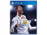 Brand New Fifa 18 for PS4.