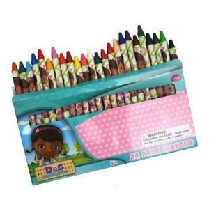 24ct Doc McStuffins Crayon Box