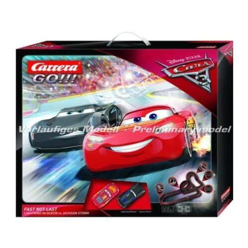 Carrera First 62416 Disney Cars 3 Fast not Last