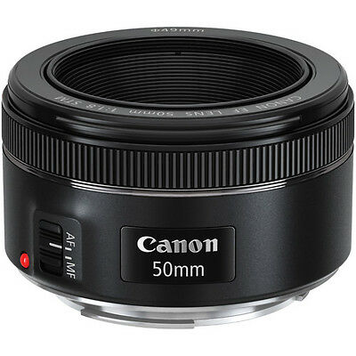 Canon EF 50mm f/1.8 STM Standard Autofocus Lens for EOS Rebel Cameras BRAND NEW