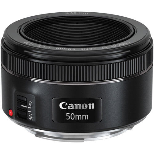 -   10 - Canon EF 50mm f/1.8 STM Standard Autofocus Lens for EOS Rebel Cameras BRAND NEW