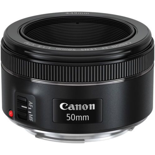 -   84 - Canon EF 50mm f/1.8 STM Standard Autofocus Lens for EOS Rebel Cameras BRAND NEW