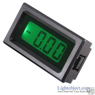 Up8035 Green Lcd Dc 20v Digital Volt Meter Power 6-15v