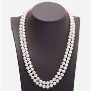 Double Strand Cultured Pearl Necklace