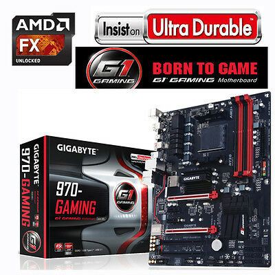 Aufrüst Bundle AMD Bulldozer FX-8300 8x4,20GHz+ Mainboard Gigabyte 970 Gaming