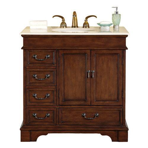 36 bathroom vanity ebay for Bathroom 36 vanities