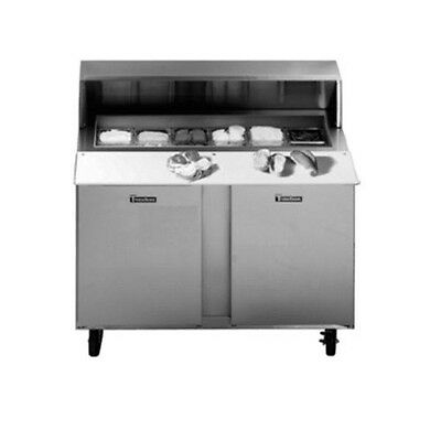 Traulsen Upt7218-rr-sb 72 Refrigerated Counter With Stainless Steel Back