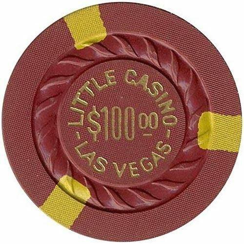 Little Casino Las Vegas NV $100 Chip 1950s