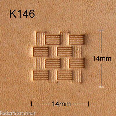 Punziereisen, Lederstempel, Punzierstempel, Leather Stamp, K146 - Craft Japan