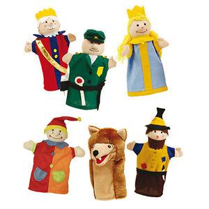 Roba Handpuppen Kasperlefiguren Kaspertheater 6 teile 9712 günstig kaufen Marionetten & Handpuppen